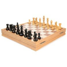 Классические деревянные шахматы