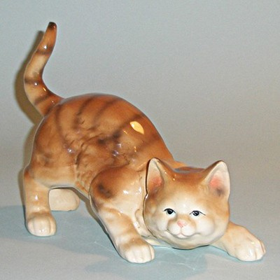 Статуэтка кот Хозяин