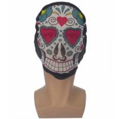 Текстильная маска Мексиканский череп