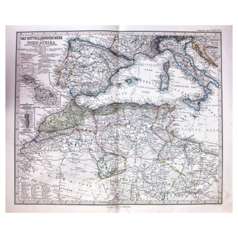 Карта «Средиземное море»