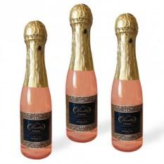 Набор из 3 гелей для душа «Розовое шампанское»