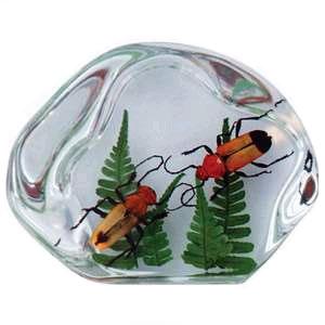 Настольный сувенир: 2 цветочных жука