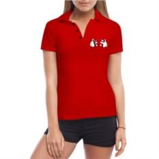 Женская футболка Поло Микки