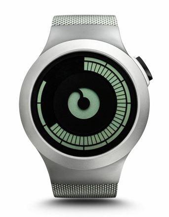 Мужские наручные часы ziiiro saturn chrome