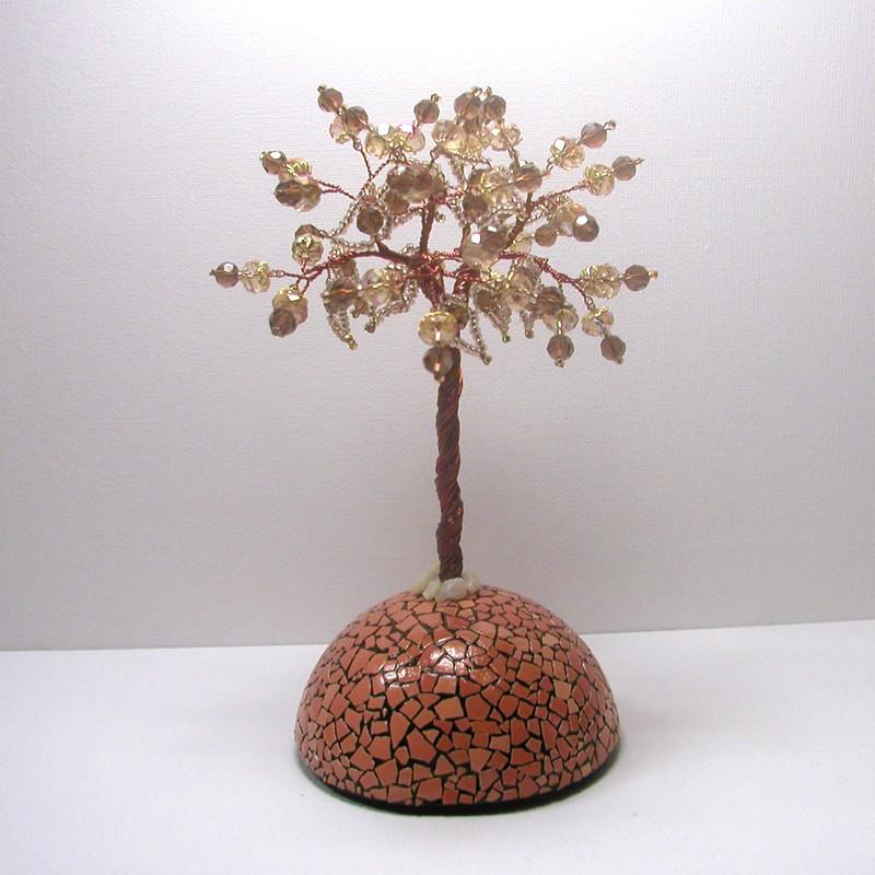 Дерево счастья из цитрина на куполе