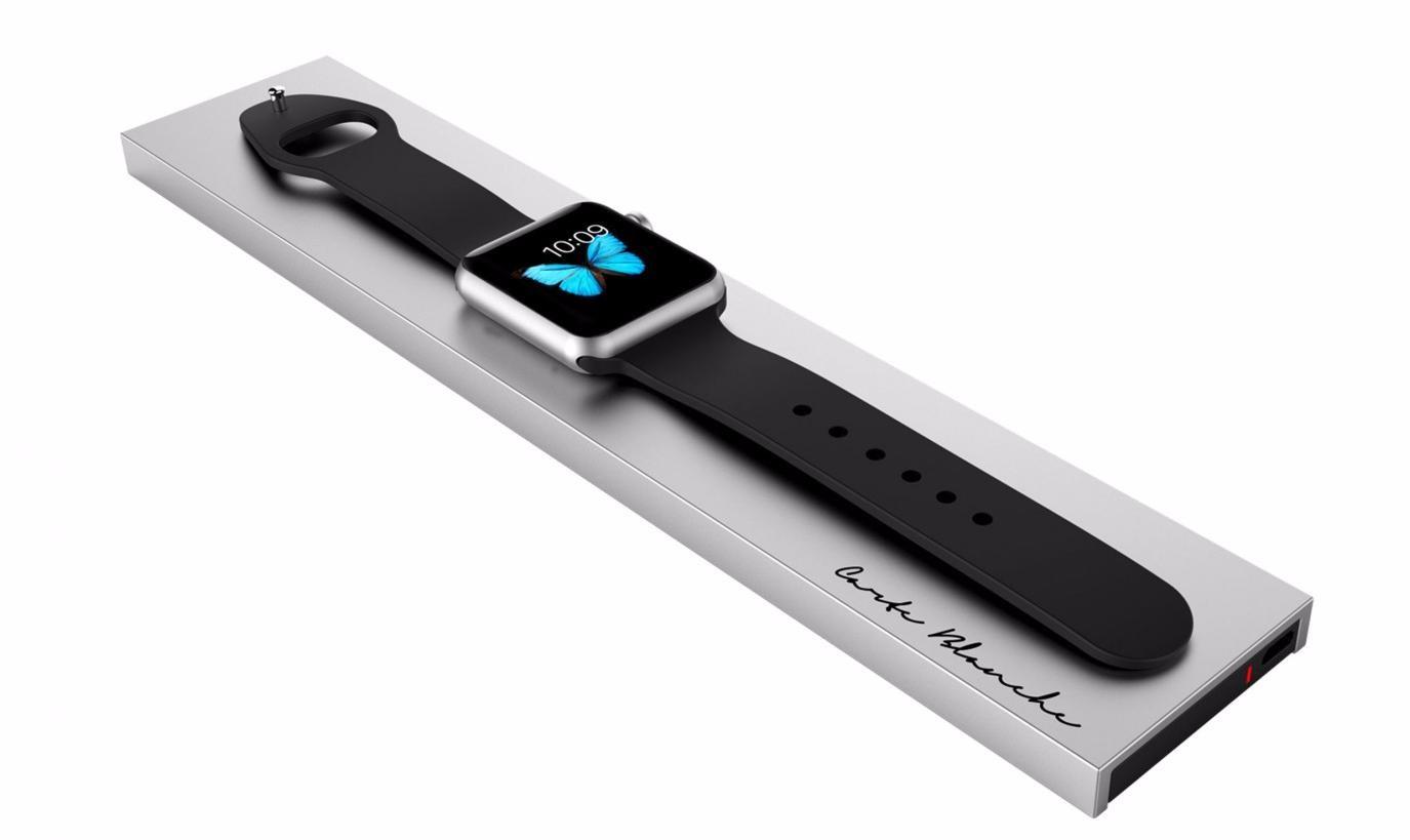 Док-станция Boostcase Bloc для Apple Watch (Silver)