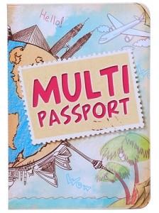 Обложка для загранпаспорта Multi passport