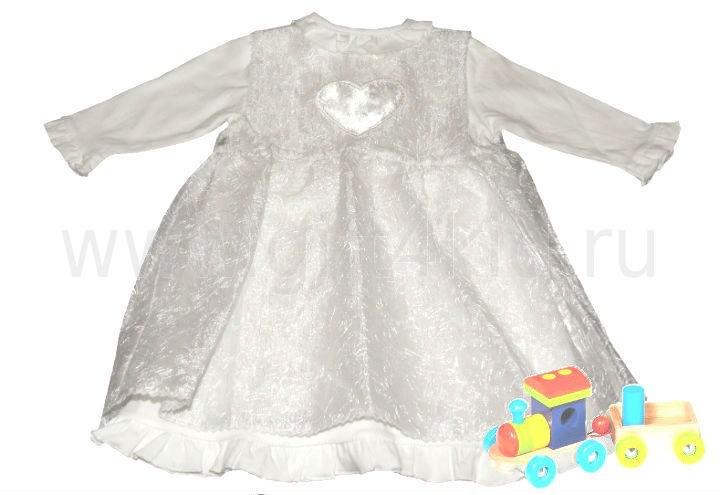 Крестильное платье Сердце