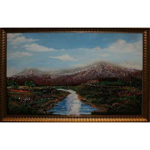 Картина с кристаллами Сваровски Гора Арарат