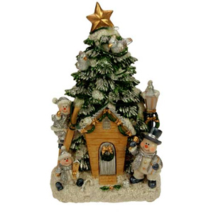 Новогодняя композиция «Санта»