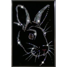 Картина Новогодний кролик