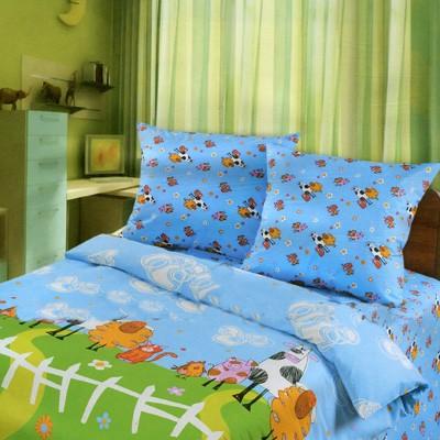 Детское постельное бельё «Весёлая ферма»