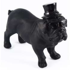 Декоративная фигурка Собака в шляпе