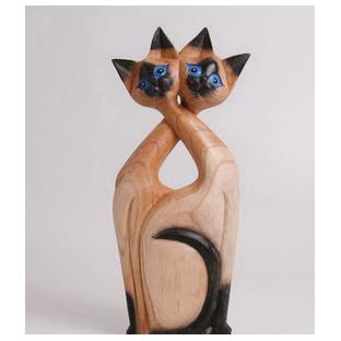 Фигурка «Сиамские кошки»