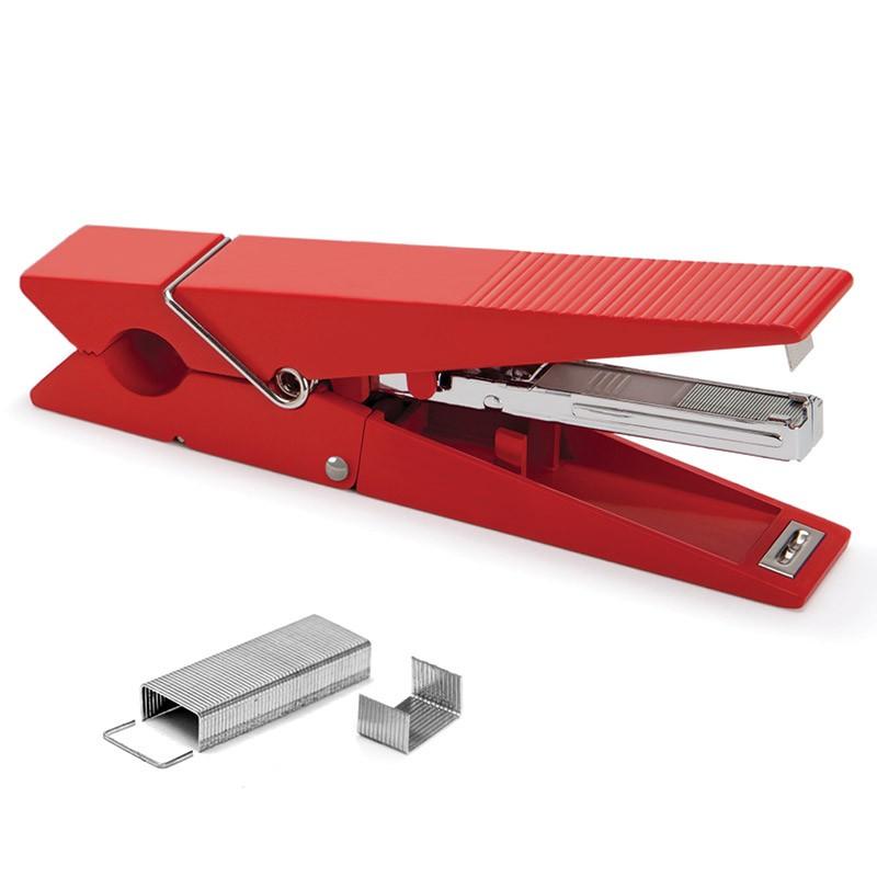 Степлер Paper peg, красный