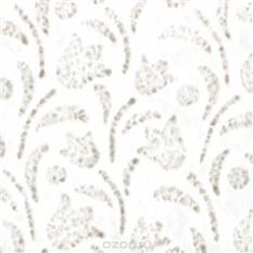 Рисовая бумага для декупажа Ландыш, фоновая, цвет: белый