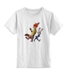 Детская футболка Зверополис