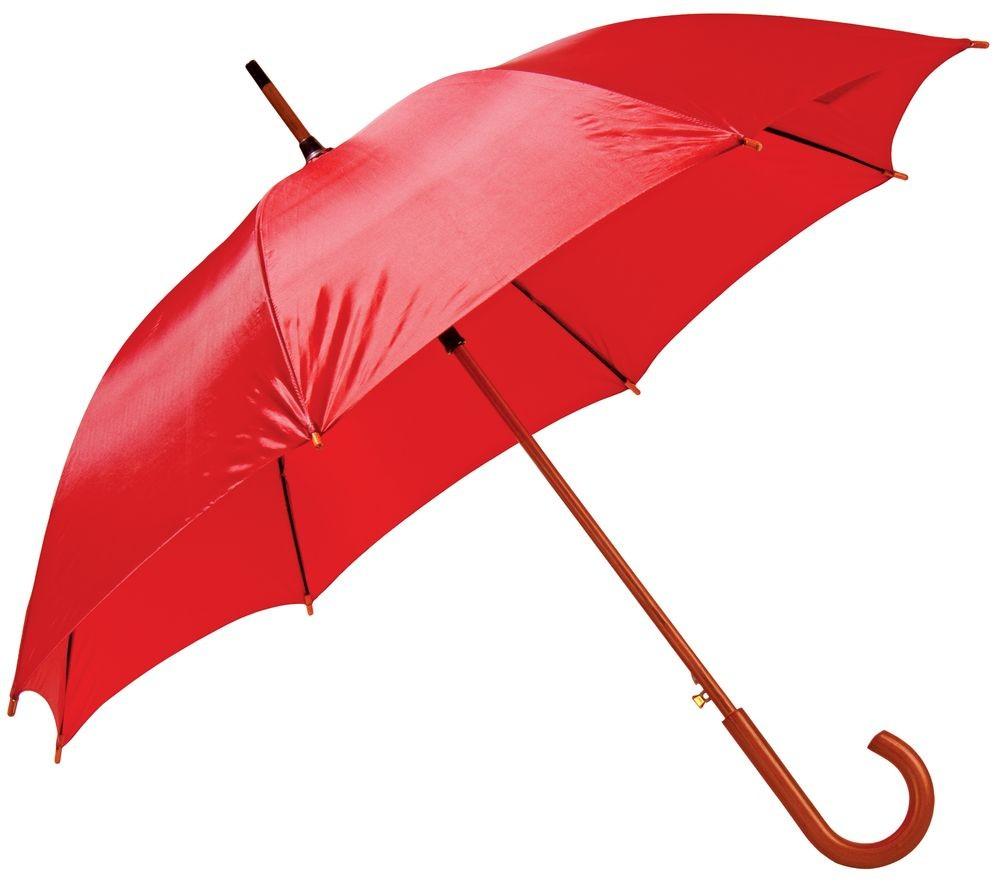 Красный зонт-трость Unit Standard