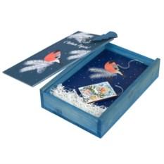 Подарочный новогодний набор Снегири