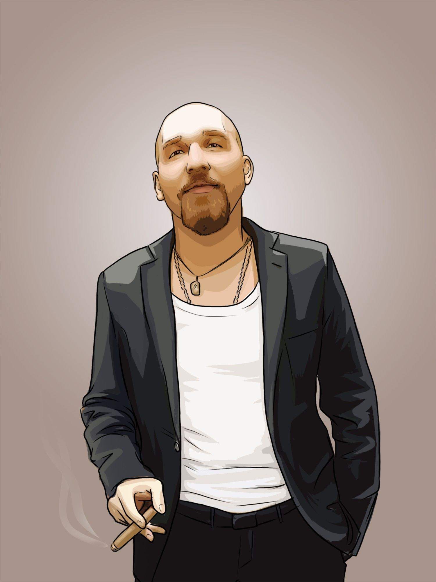 Портрет Классическая обработка