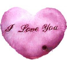 Светодиодная подушка «Сердце»