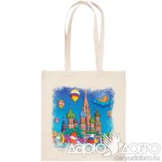 Холщовая эко-сумка Москва