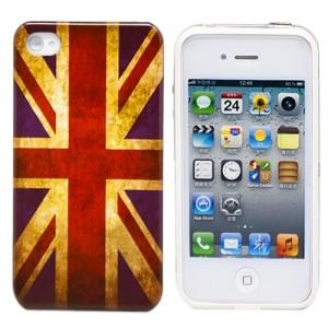 Чехол для iPhone 4/4S British Flag