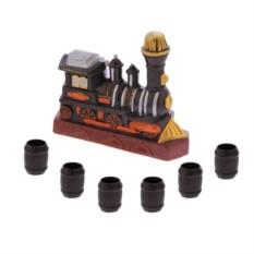 Водочно-коньячный набор Паровоз 7 предметов