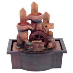 Настольный фонтан с подсветкой