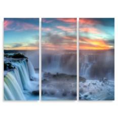 Модульная картина Водопад Виктория