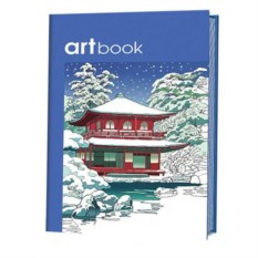 Записная книжка-раскраска Artbook в японском стиле