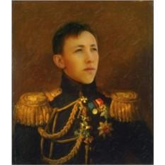 Фотомонтаж Портрет военного