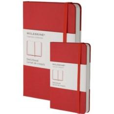 Красная записная книжка для рисунков Moleskine Classic
