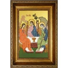 Икона с кристаллами Swarovski Троица
