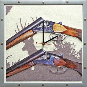 Часы настенные «Охотнику»