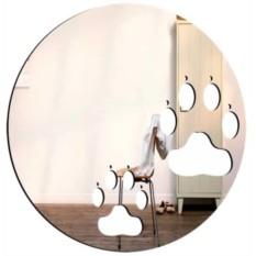 Декоративное зеркало Лапки