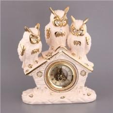 Настольные часы Три совы Hangzhou Jinding