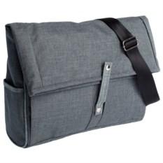 Серая с темно-серым сумка для ноутбука 2 в 1 twoFold