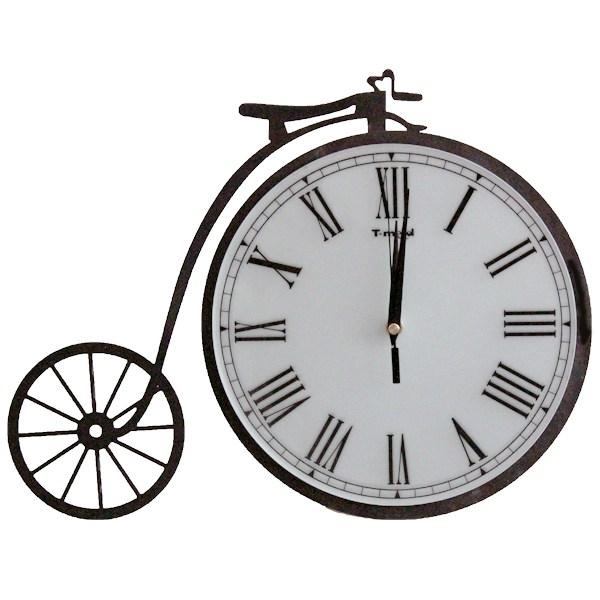 Часы Старинный велосипед