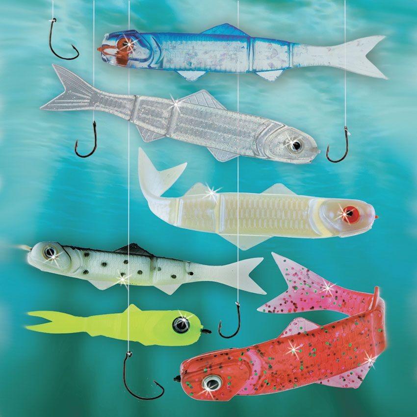 Набор наживок для рыбалки