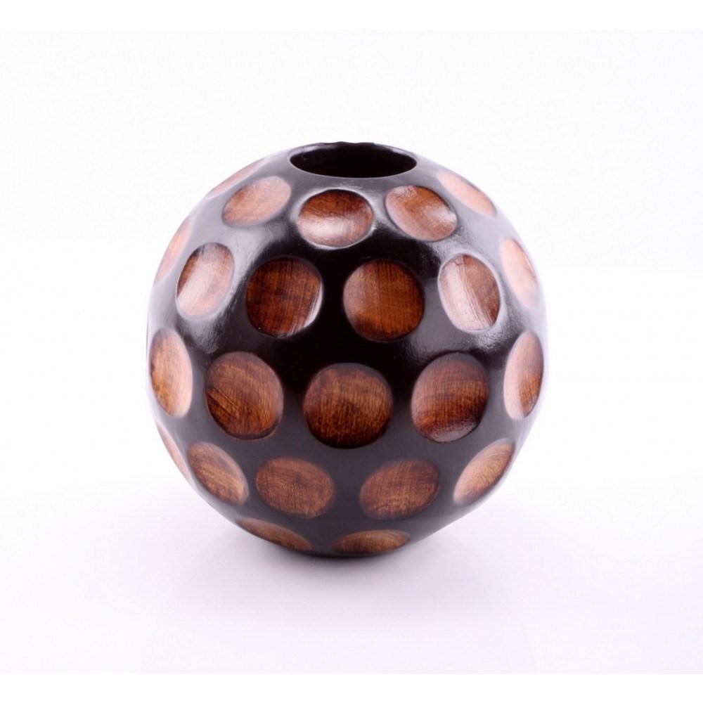 Деревянная ваза Улей
