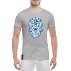 Мужская футболка Schalke Мексиканский череп