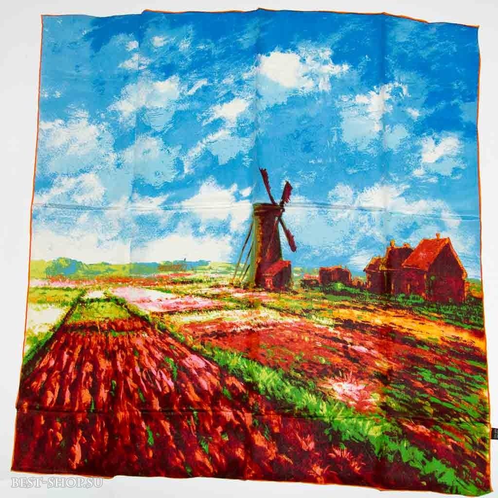 Платок Тюльпаны Голландии