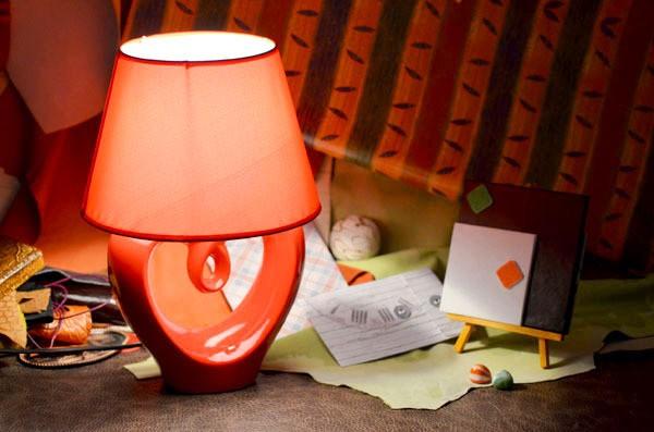 Настольная лампа Любовь