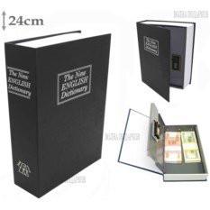 Книга сейф с кодовым замком The new english dictionary Black