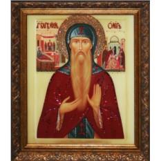 Картина с кристаллами Сваровски Святой князь Олег