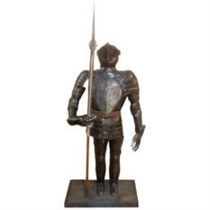 Большая статуэтка Рыцарь с копьем (высота 83 см)