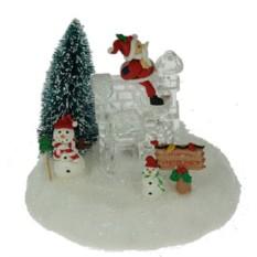 Новогодняя композиция Ледяной домик