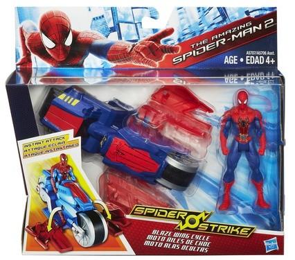 Фигурка Человек-Паук на транспортном средстве от Hasbro