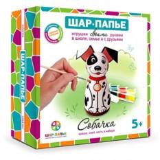 Набор для творчества из папье-маше «Собачка»